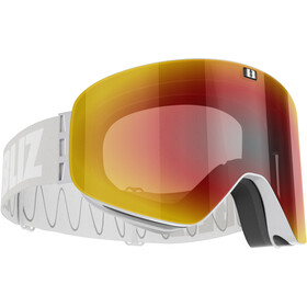Bliz Flow Goggles, matt grey/brown-red multi